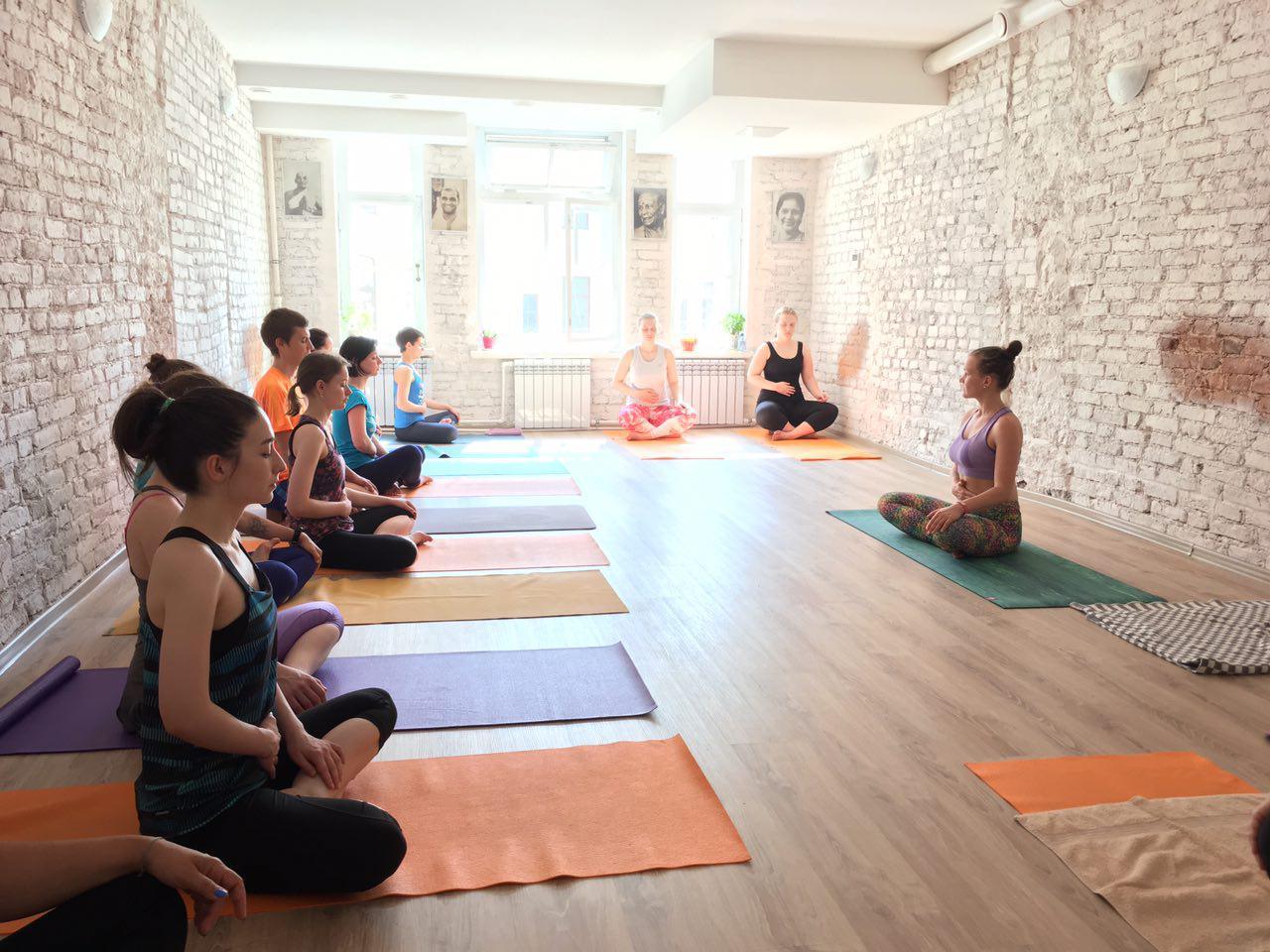Расписание занятий по йоге